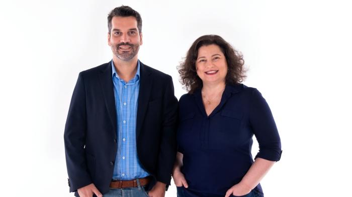 Maria Moraes Robinson e Igou Couto
